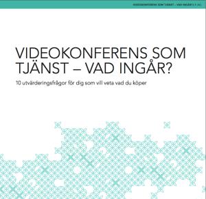 Upphandlingsunderlag videokonferens